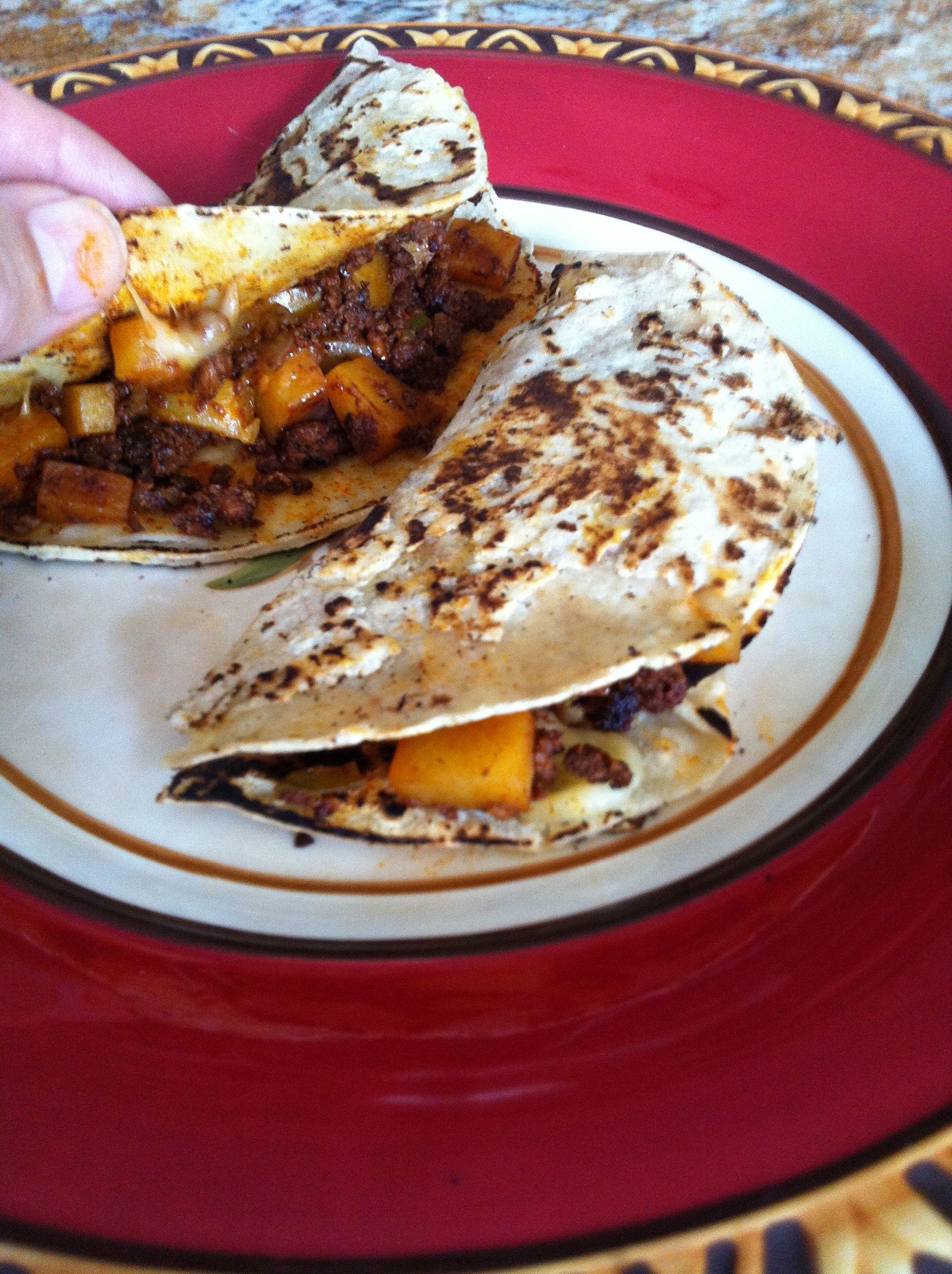 Tacos De Chorizo Y Papa | www.galleryhip.com - The Hippest Pics