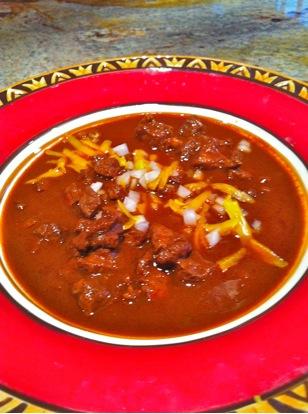 """""""Chili"""" – Carne Con Chile"""