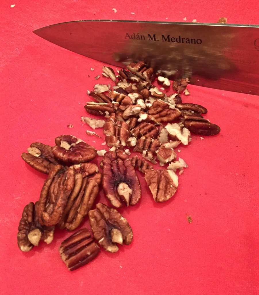 Texas Pecans for Stuffed Mushrooms