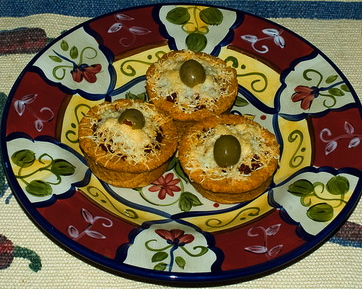 Cazuelitas, also called sopes, are filled with a variety of delicious recipes