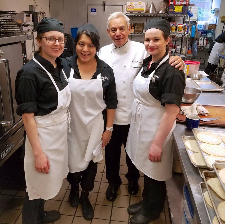 Cooking Staff at The Chopping Block, Chicago