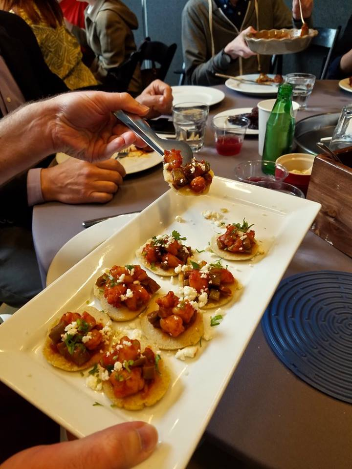 Truly Texas Mexican cooking: Cactus & Shrimp in Guajillo Chiles
