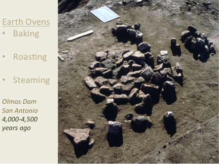 Cooking Worksho[ Slide: Earth Ovens were invented thousands of years ago