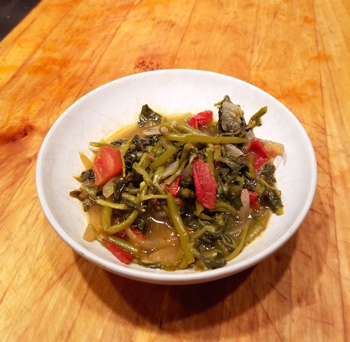 Verdolaga, Purslane: The Best Cooked Greens