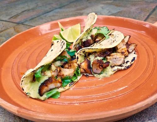 Serrano Avocado Salsa For Tacos Al Pastor