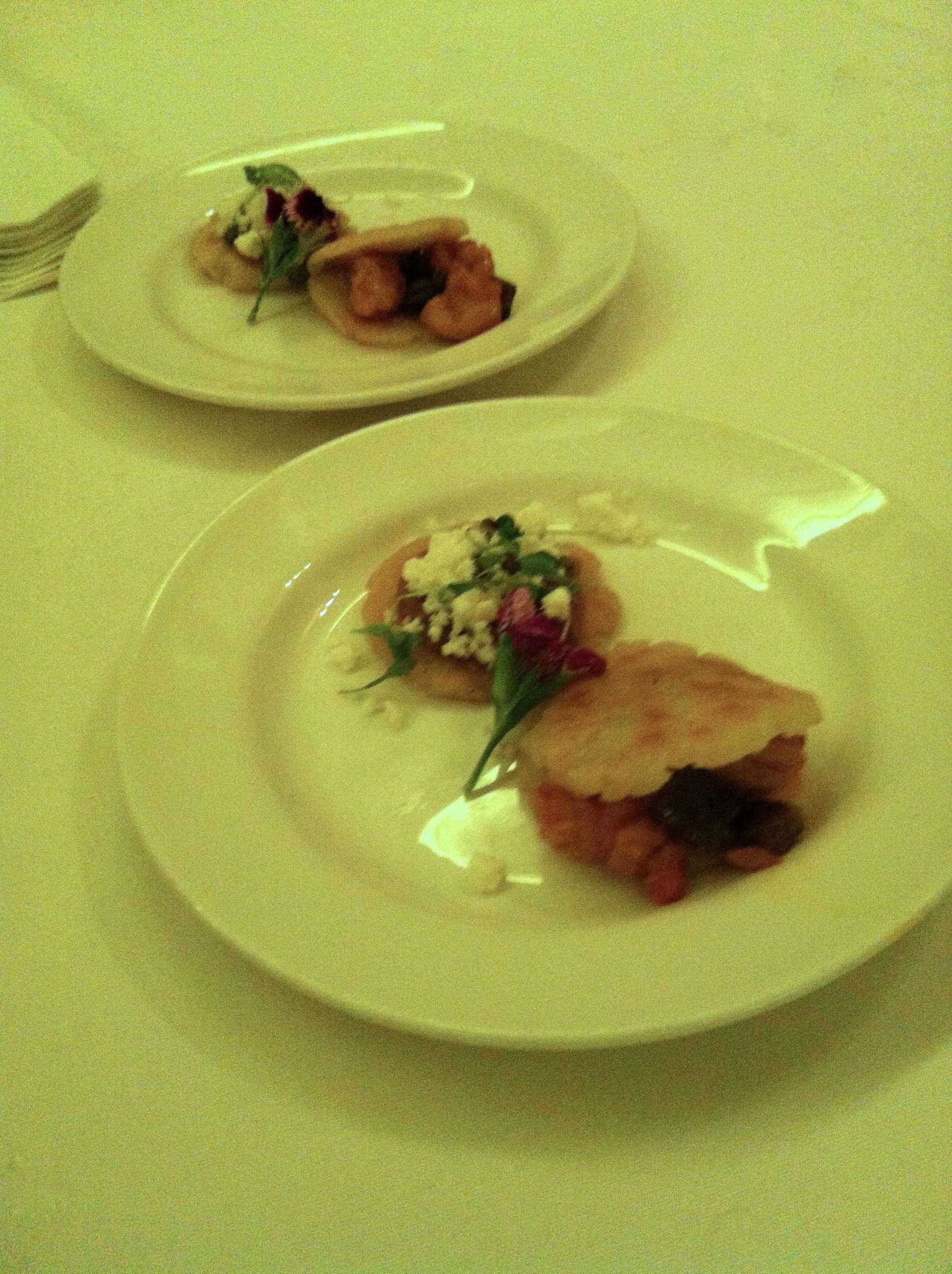 Nopalitos shrimp gorditas make perfect party dish
