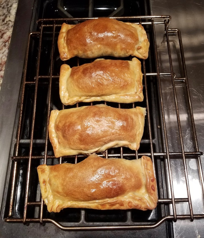 Empanadas De Pino, traditional dish of Mapuche, Chile